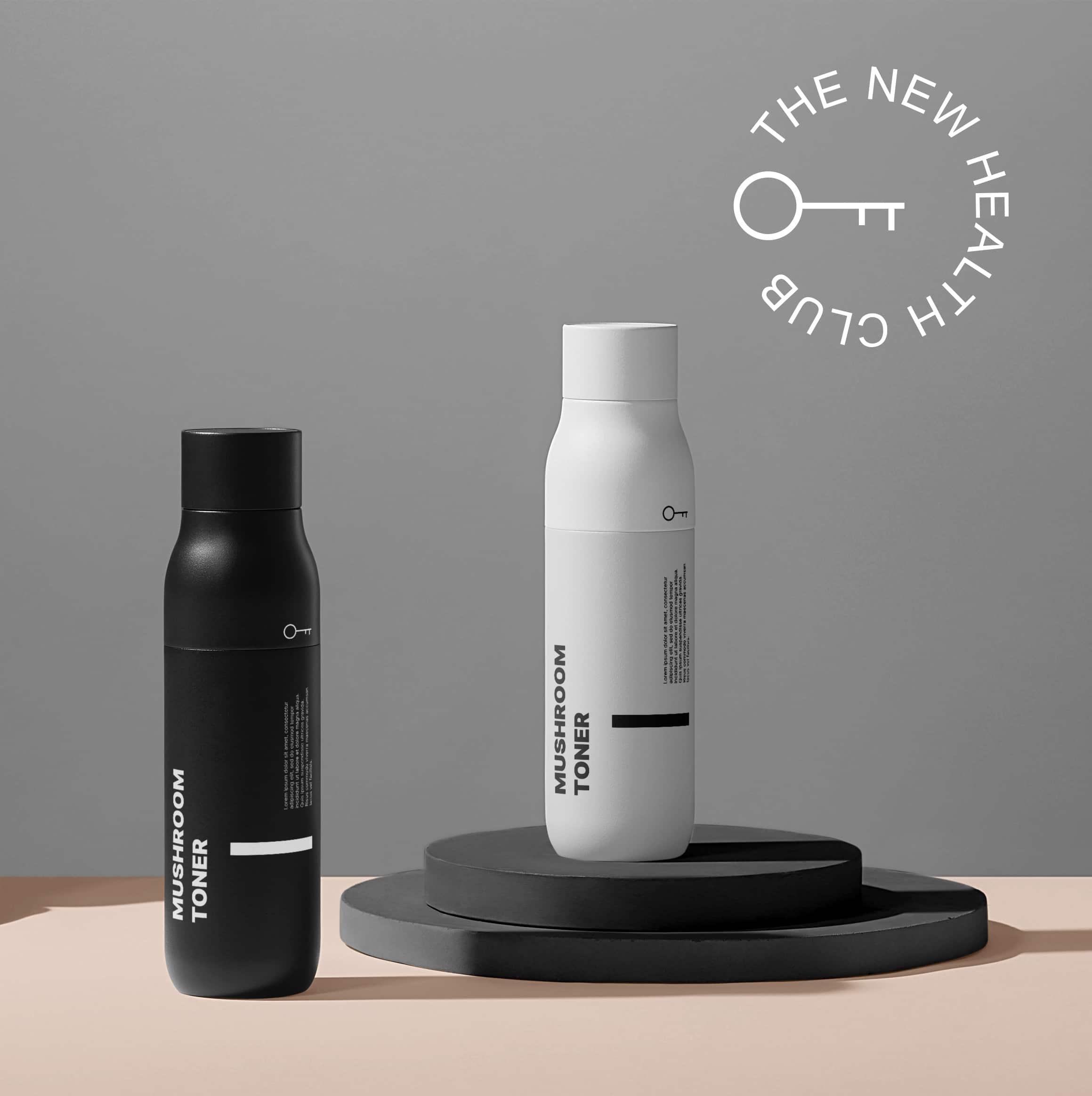 mimosa - brand consultancy - digital marketing agency - creative studio - Glass bottle - Product design